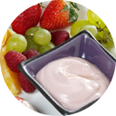 Fresh-Fruit-with-Yogurt-Sauce