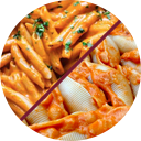 Penne-or-Stuffed-Shells-with-Vodka-Sauce